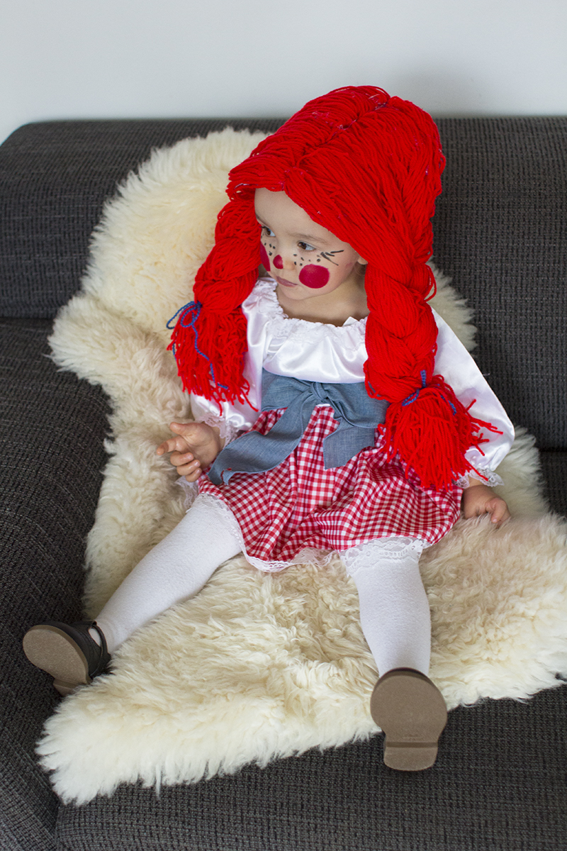 Raggedy Ann Doll Toddler Costume