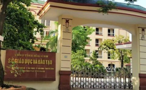 Trụ sở Sở GD-ĐT tỉnh Hòa Bình