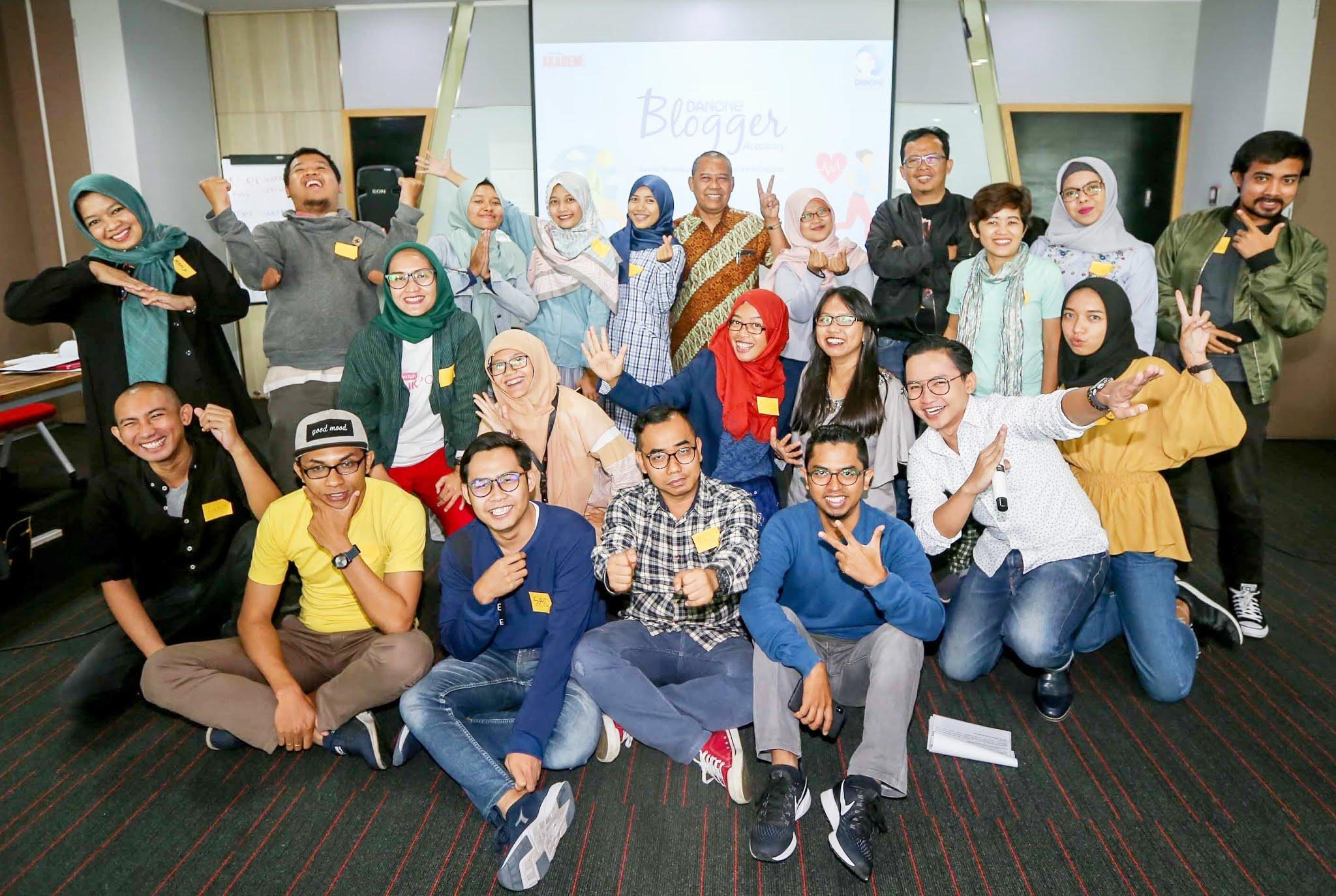 Danone Blogger Academy 2018: Paket Komplit Kelas Blogging Persembahan Danone dan Kompasiana