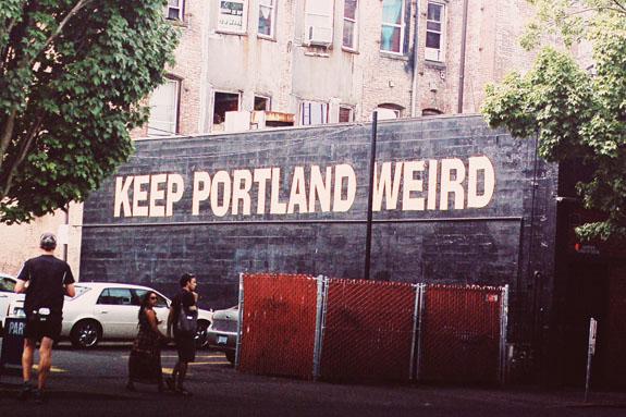 2 days in Portland keep Portland weird