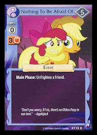 MLP Nothing to Be Afraid Of Canterlot Nights CCG Card