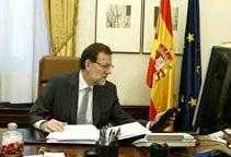 Le chef du gouvernement espagnol Mariano Rajoy