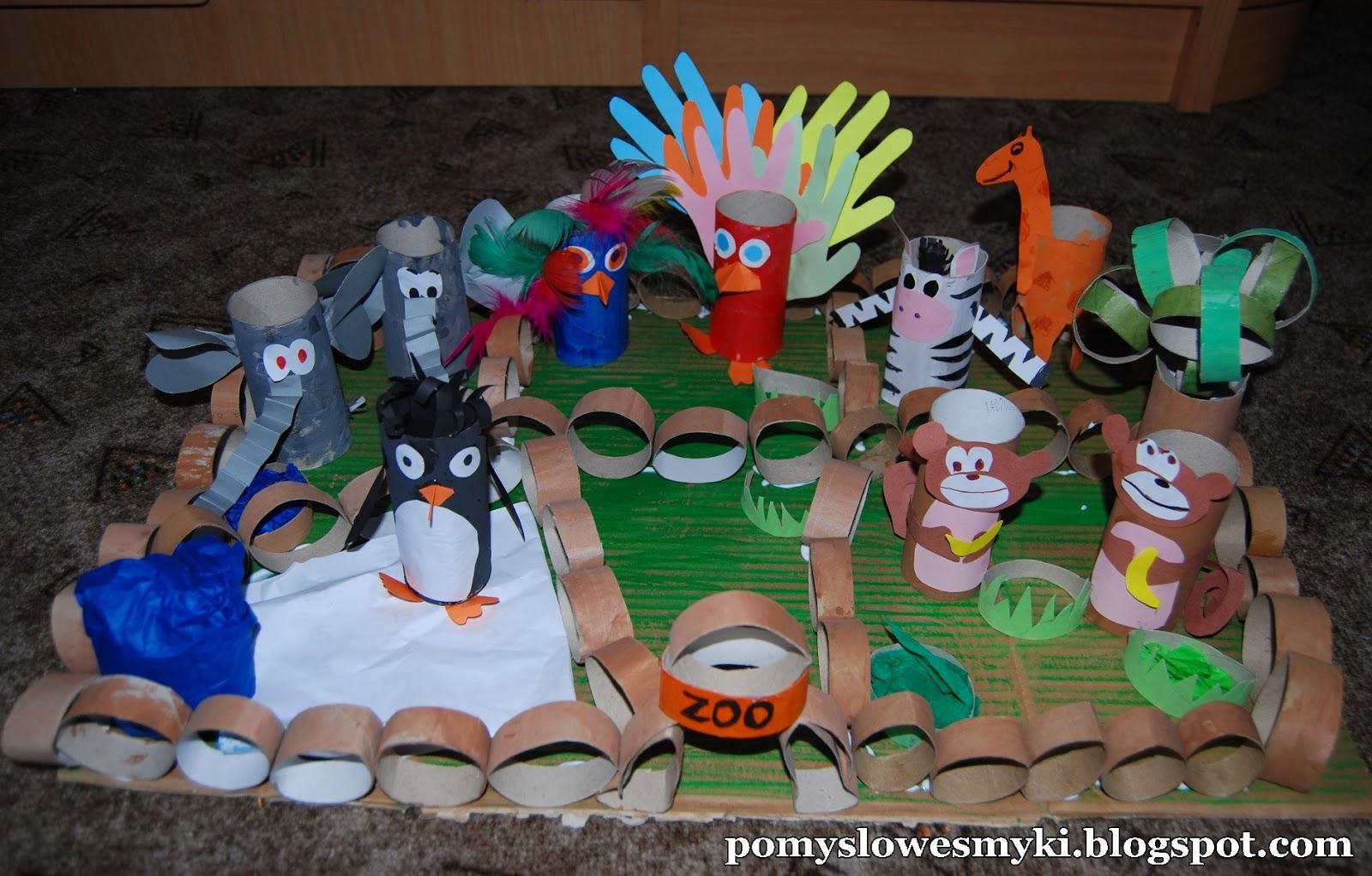 Mini zoo - Pomysłowe Smyki Mamy - nasz kreatywny świat