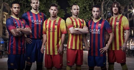 camiseta fc barcelona segunda equipacion