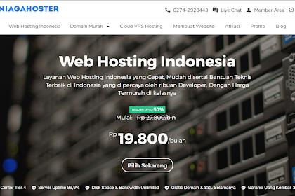 Web Hosting Termurah dengan Kualitas Baik - Review Niagahoster
