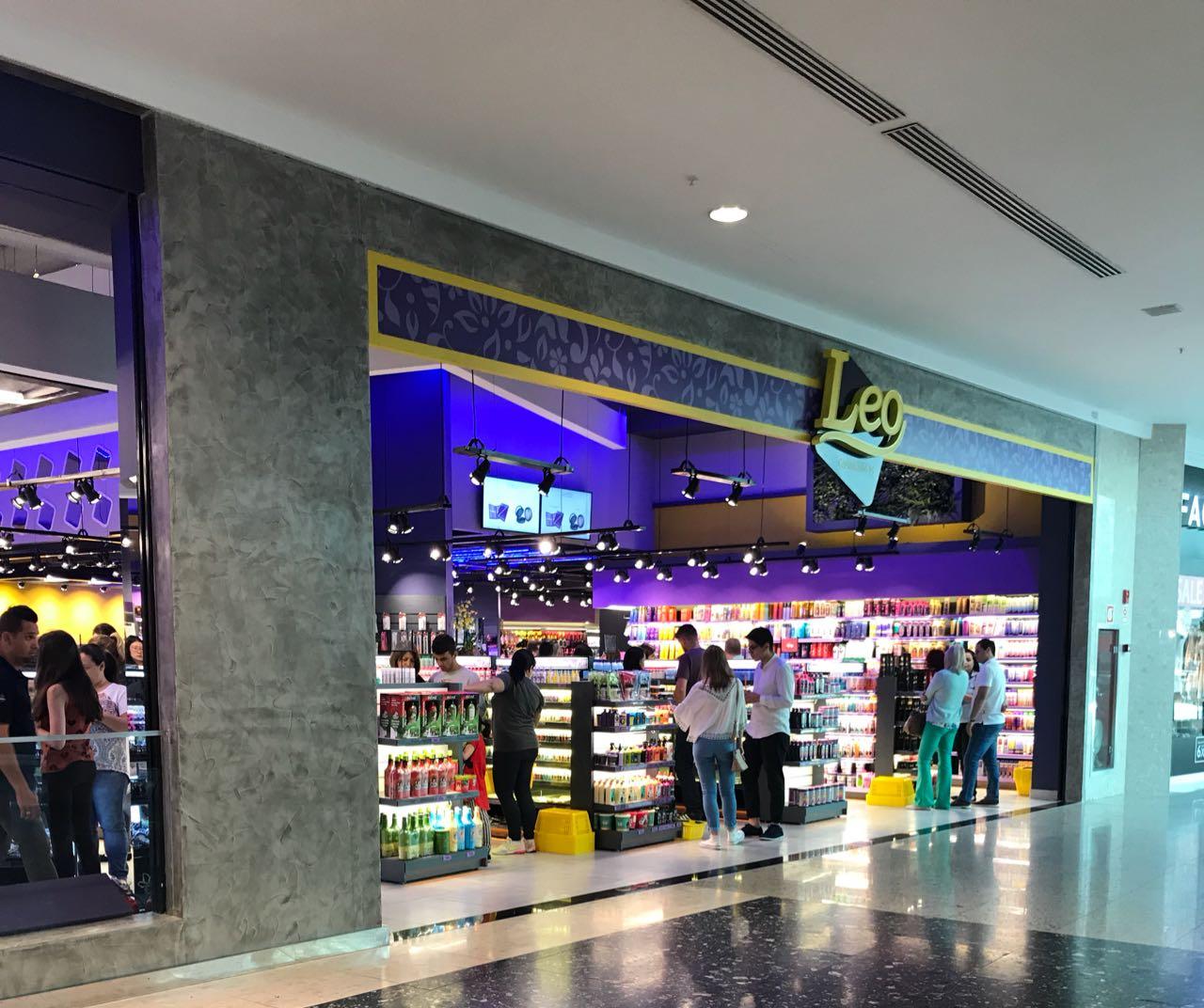 Léo Cosméticos Shopping Palladium Curitiba
