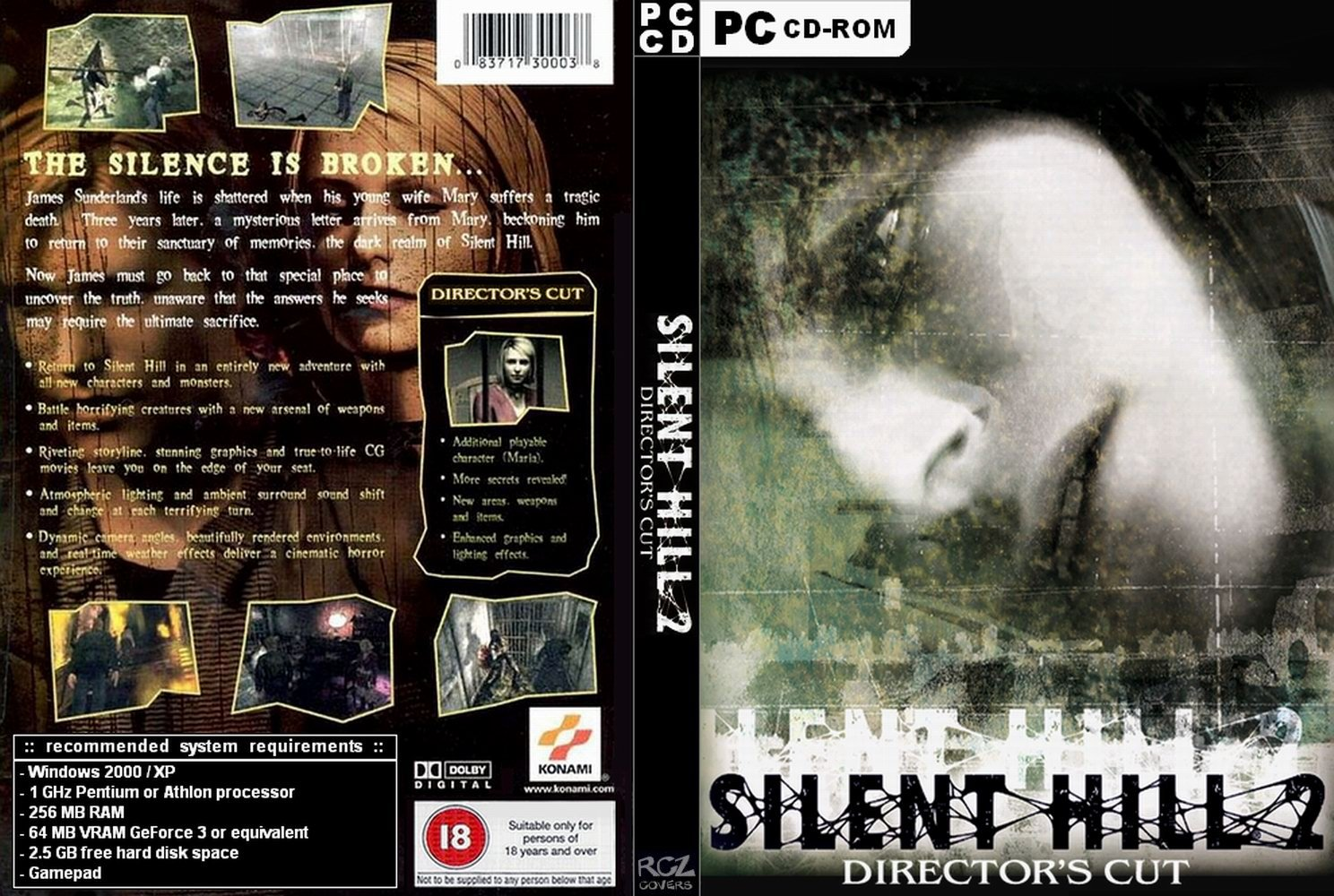 Download Silent Hill 2 Directors Cut PC Game Torrent