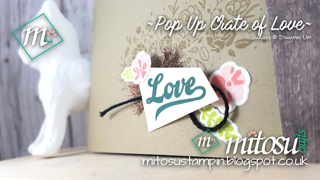 Stampin Up Wood Words Crate Bundle Mitosu Crafts Pop Up Card Order Stampinup UK Online Shop 1