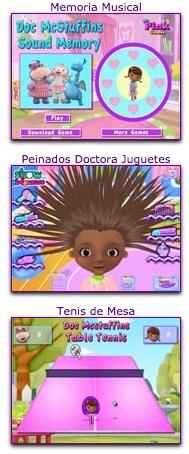 juegos infantiles de la doctora juguetes de disney junior