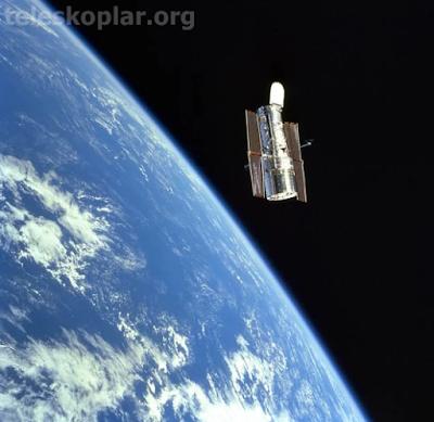 uzayda görev yapan teleskop