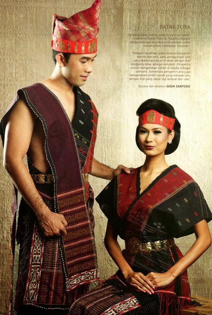 pakaian pengantin adat batak 1