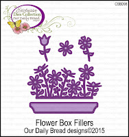 Our Daily Bread designs Custom Flower Box Fillers Dies