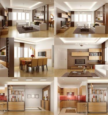 Nội thất trong căn hộ mini Đào Tấn - Ba Đình