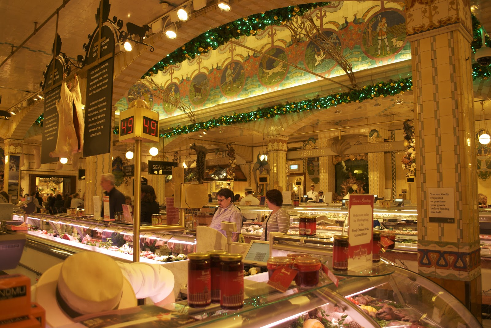 Food Near Harrods