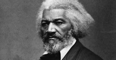 Frederick Douglass, a former slave,