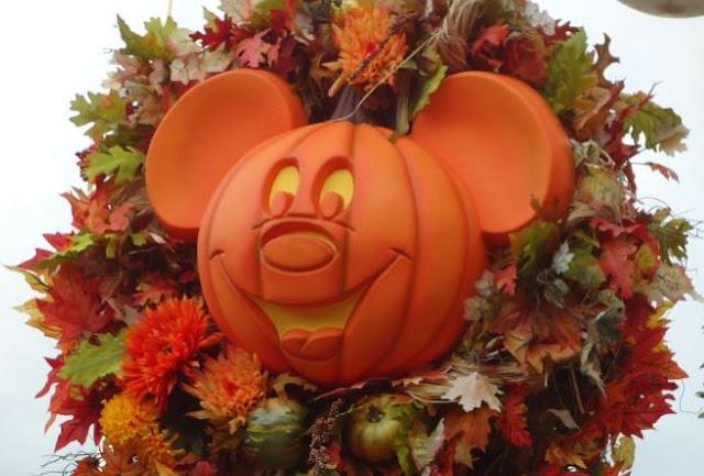 Walt Disney World Halloween Jack O Lantern Pumpkin
