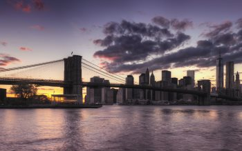 Wallpaper: Brooklyn Bridge 4K Views