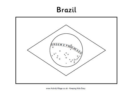 mexico coloring flag brazilian page all mexico à coloring pages
