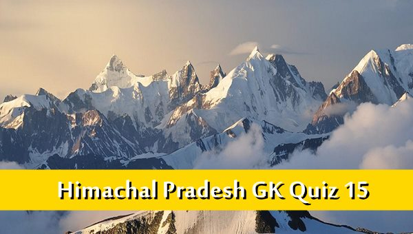 Hp Gk Quiz in Hindi Based on Mountain Peaks in Himachal Pradesh MCQ-15