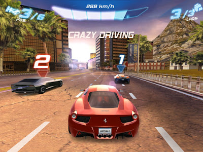 asphalt 5 java game  free