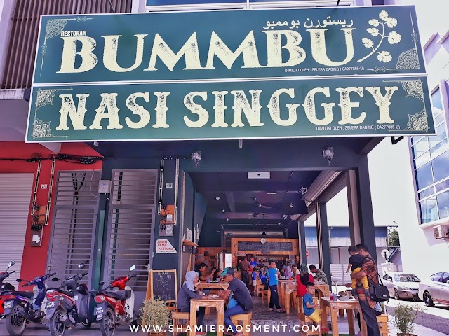 Bummbu Nasi Singgey is where Indonesian and Malaysian Unites!