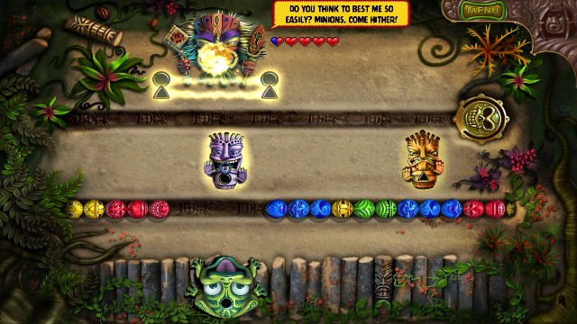 Download Zuma Revenge PC Games Gameplay