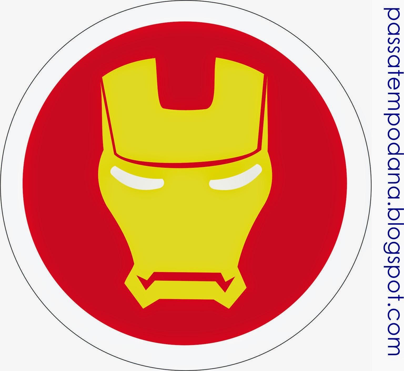 Etiquetas para candy bar para fiestas de los vengadores for Logos para editar