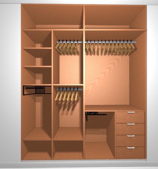 Qué tipo de puerta de armario empotrado elegir - Carpinteros en ...