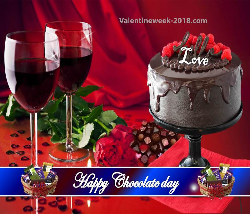 Happy chocolate day image free download 2018