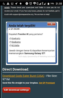 download game ppsspp di hp android