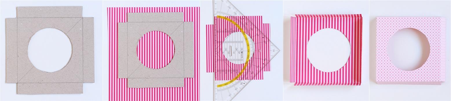 DIY/Tutorial Cupcake-Geschenkbox - Cupcake-Geschenkschachtel Anleitung 2