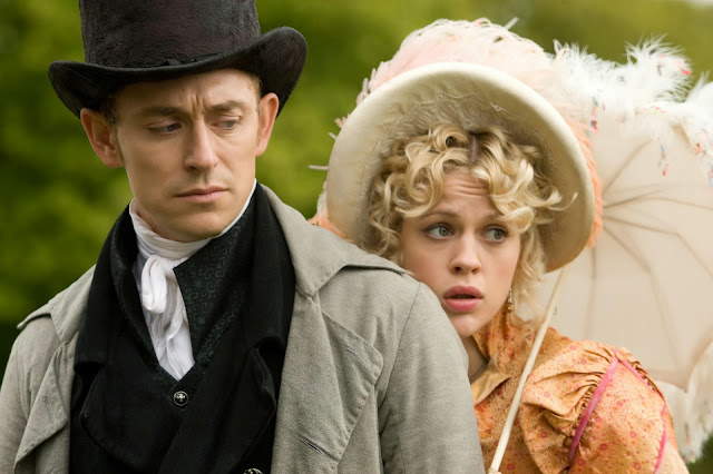 'Austenland': A Hilarious Jane Austen Spoof Romance. A review of the 2013 film based on the novel by Shannon Hale. Text © Rissi JC