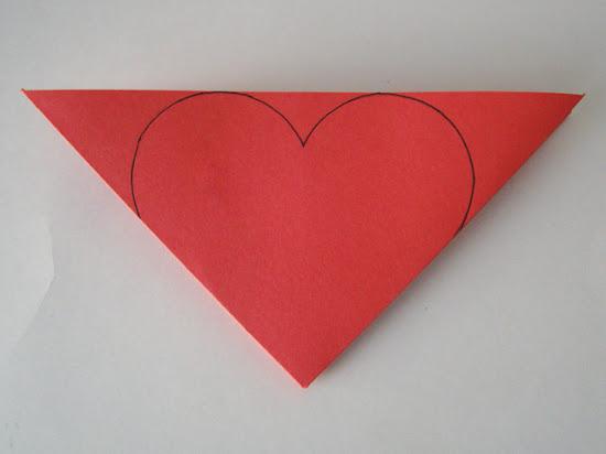 Heart Half Diagram Cut