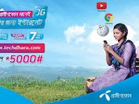 Grameenphone Prepaid and Postpaid 3G Internet Package (New)
