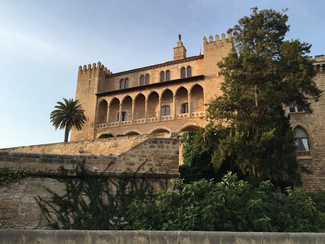 Palau de l'Almudaina, Palma de Mallorca.