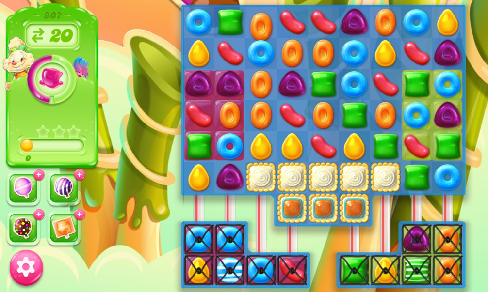 Candy Crush Jelly Saga 307