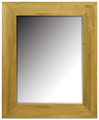 minimalist teak mirror,mirror teak minimalist furniture Indonesia,interior classic furniture,CODE MIRR110