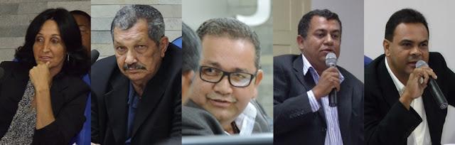 Cinco vereadores de Escada trocam de partido