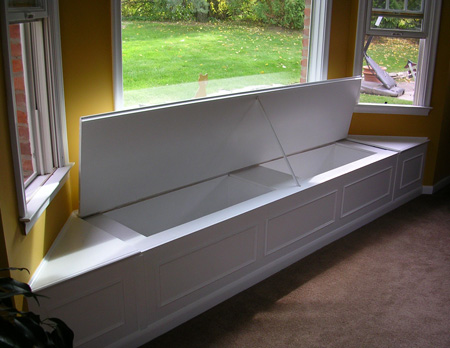 All About Window Building A Window Seat With Storage