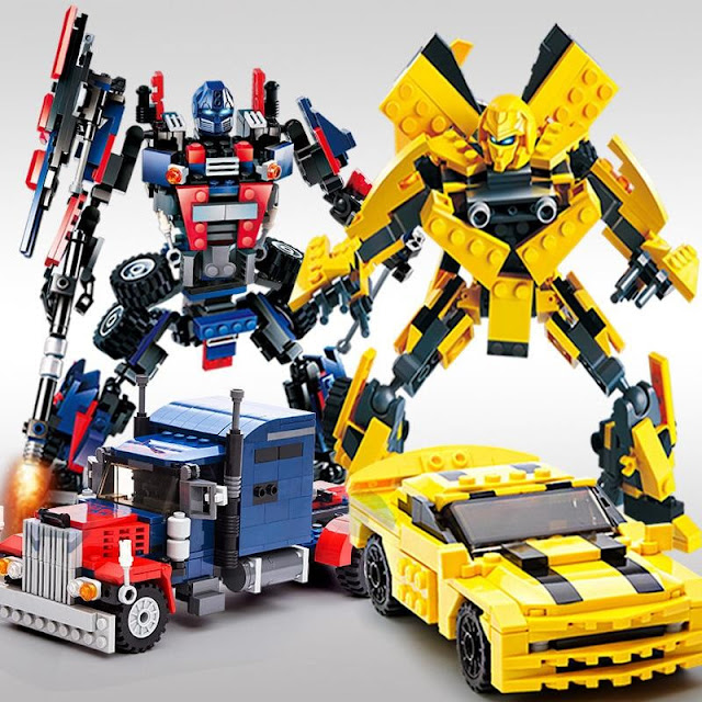 Tranformers Building Blocks Kit