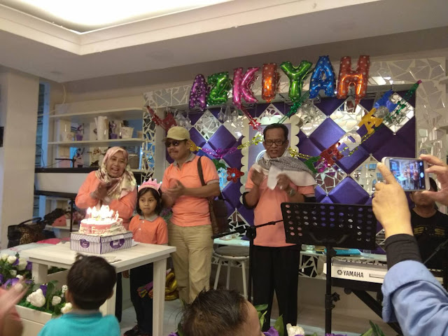 Happy Birthday Azkiyah! Yanikmatilah Saja