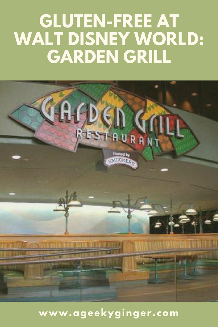gluten free at walt disney world garden grill - Garden Grill