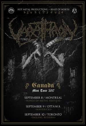 Varathron's Canada tour