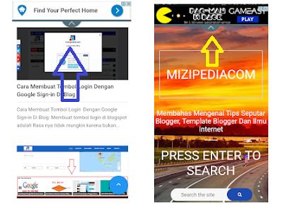 Cara Memasang Iklan PAGE LEVEL ADS Adsense Versi Mobile
