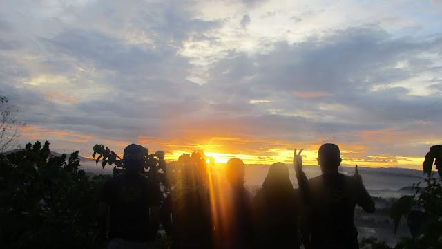 Sunrise Gunung Sunda