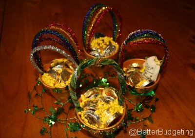 St. Patrick's Day Irish Pot of Gold - Frugal Craft Ideas at BetterBudgeting