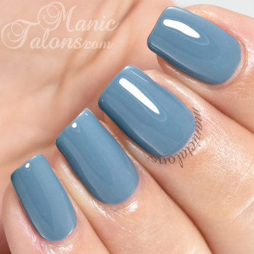 Madam Glam Gel Polish Raining Stones Swatch