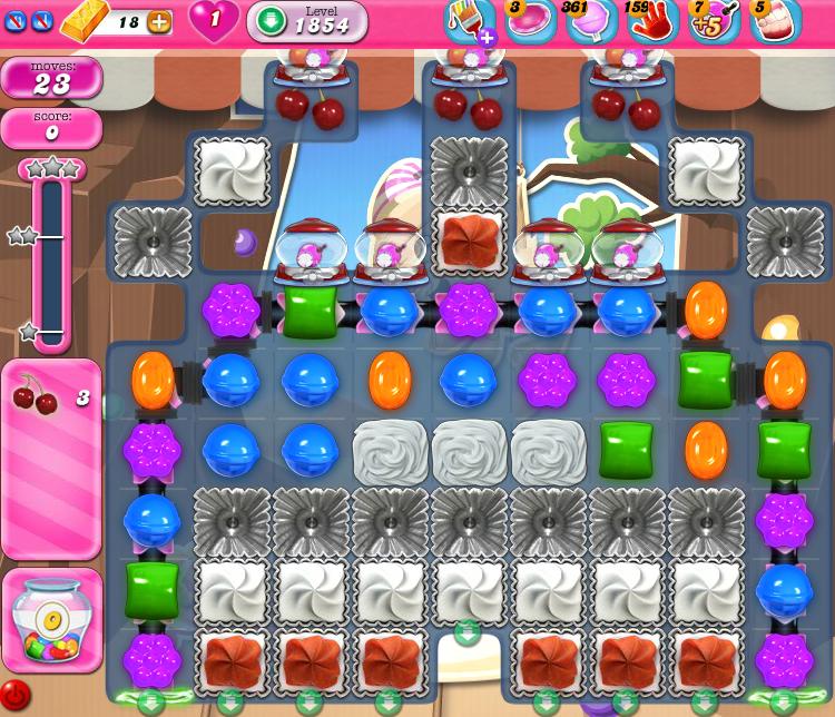 Candy Crush Saga 1854