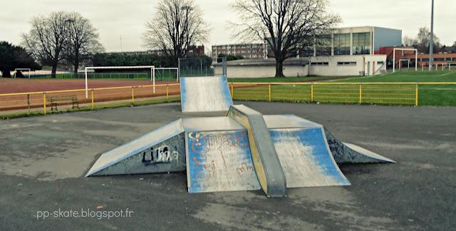 Skatepark Roubaix module central