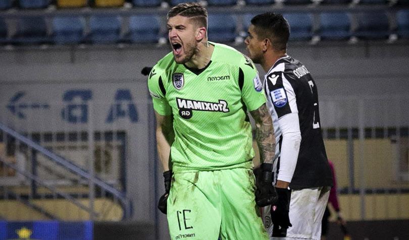 Αστέρας Τρίπολης - ΠΑΟΚ 0-3 - Πασχαλάκης